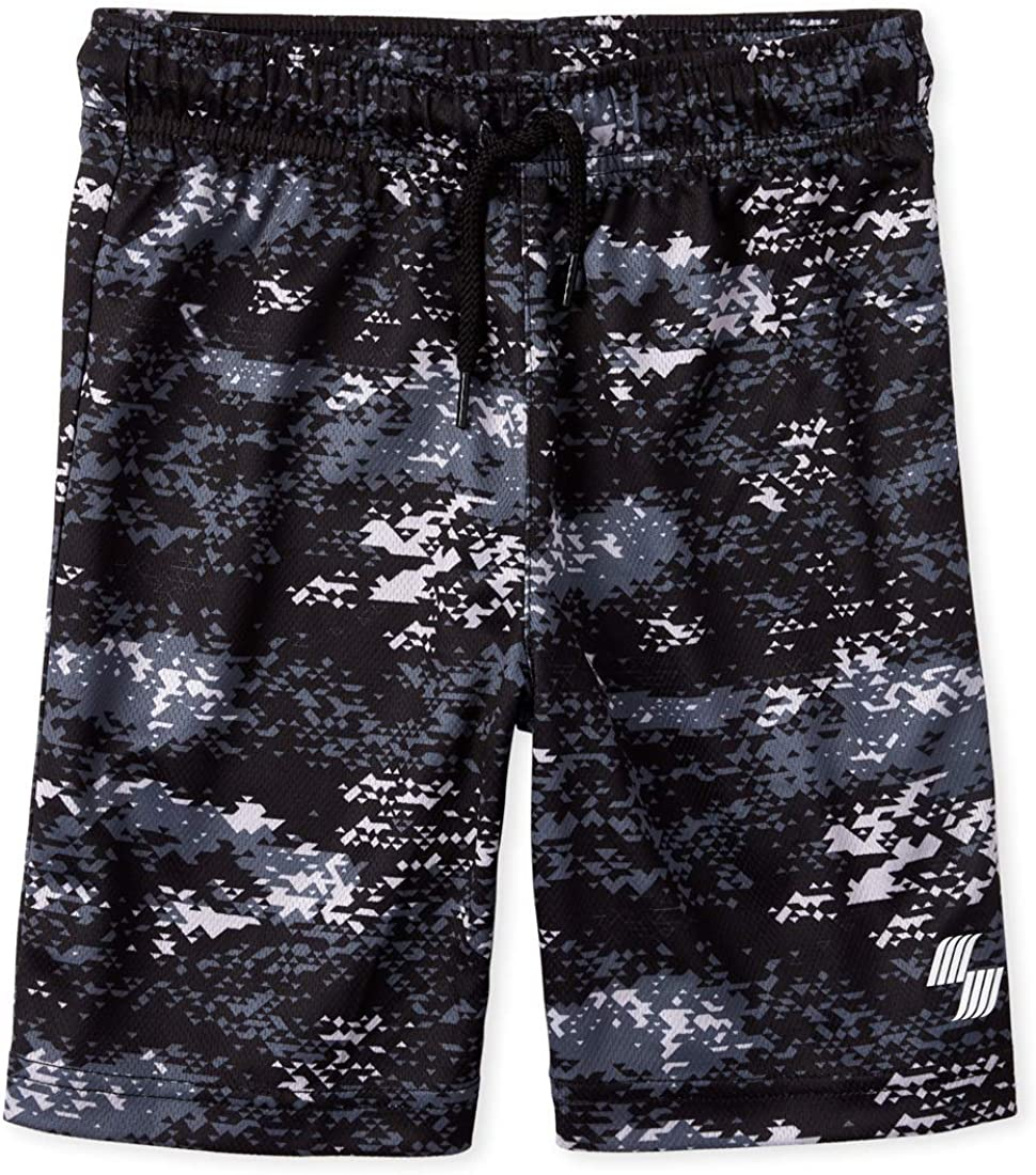 The Childrens Place Boys Printed Active Shorts