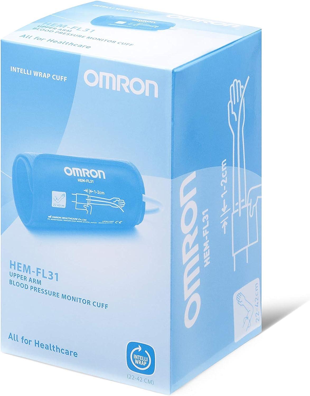 Omron Intelli WrapM6 COMF Tensiómetro de brazo, 22–42cm