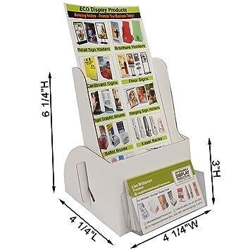 Amazon Brochure Holder Holds 4 X 9 Brochuresbusiness Cards