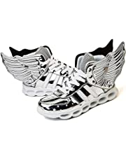 LED Light Up Shoes Running Shoes For Kids Boys Girls 4 Colors Flashing Wings Sneakers