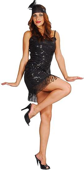 Generique - Disfraz de charlestón para Mujer XS: Amazon.es ...