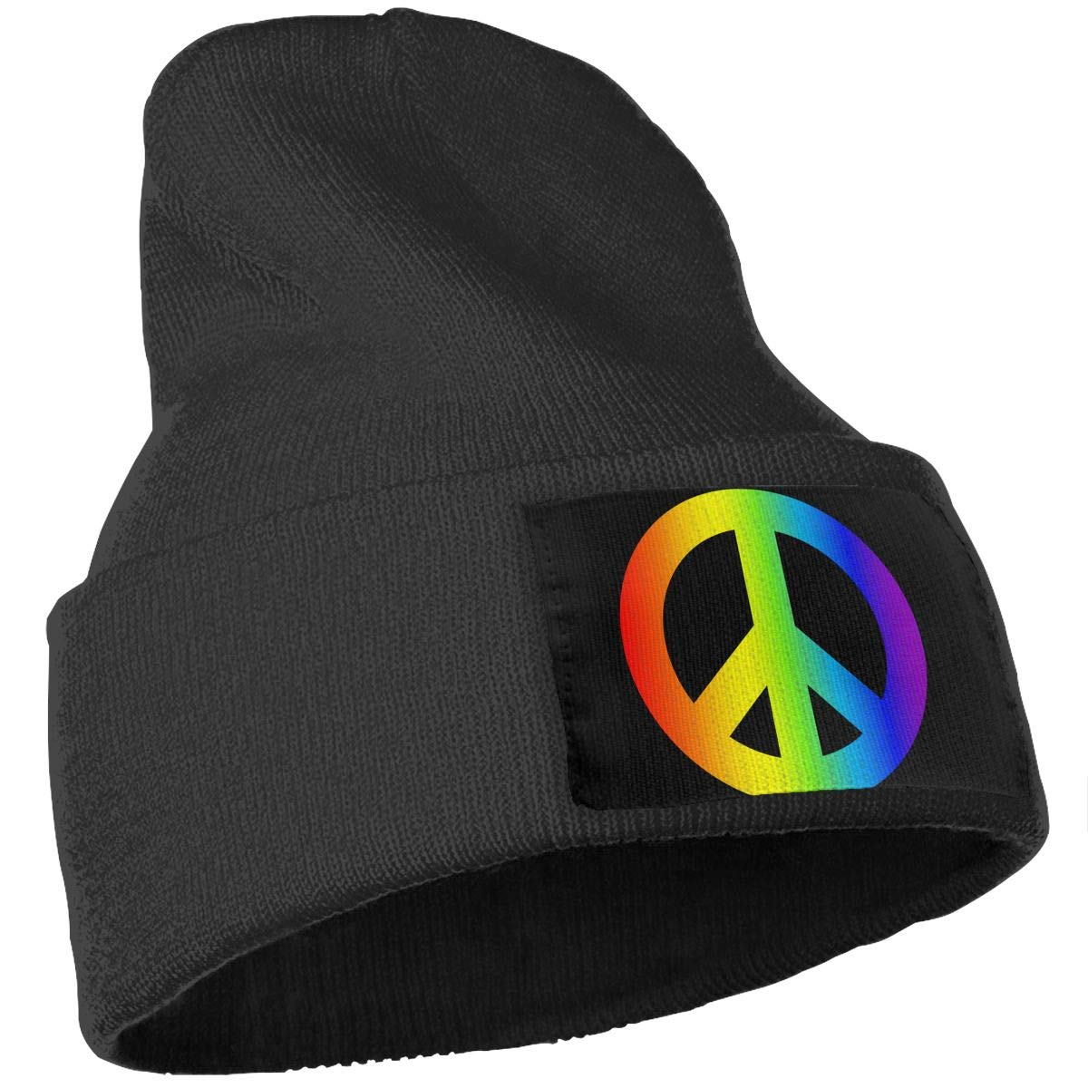 Rainbow Peace Unisex Fashion Knitted Hat Luxury Hip-Hop Cap