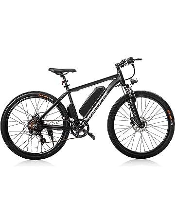"Merax 26"" Aluminum Electric Mountain Bike Shimano 7 Speed E-Bike, 36V Lithium"