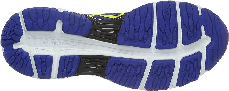 Asics Gel-Cumulus 18, Zapatillas de Running para Hombre, Azul (Blue/Yellow), 40 EU: Amazon.es: Zapatos y complementos
