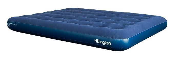 Cama hinchable de aire flocado, colchón hinchable para acampar interiores o exteriores, DOUBLE AIRBED: Amazon.es: Juguetes y juegos