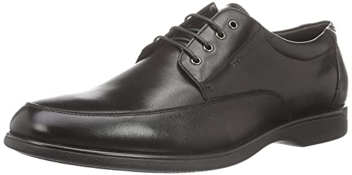 Class II 6 Brush Off, Zapatos de Cordones Derby para Hombre, Negro (Nero/Black), 45 EU Stonefly