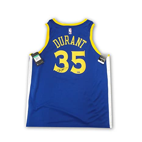 60ec0a7469c Kevin Durant Signed Autographed Golden State Warriors Swing Man Jersey  Panini