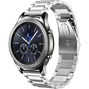 Oitom Stainless Steel Bands Compatible Galaxy Watch(46mm) /Gear S3 Classic/Gear
