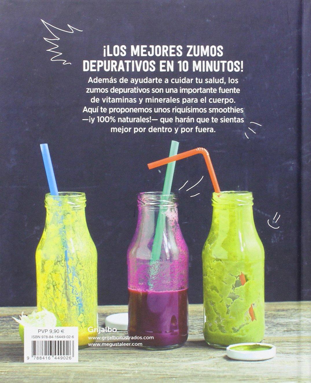Los mejores zumos depurativos / Smoothies: The Best Juices For Detoxi ng (Spanish Edition): Irina Pawassar: 9788416449026: Amazon.com: Books