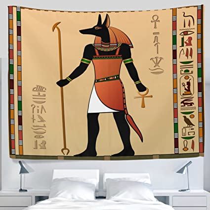 Amazon.com: ALAZA Ancient African Egyptian Ethnic Tribal Egypt Art ...