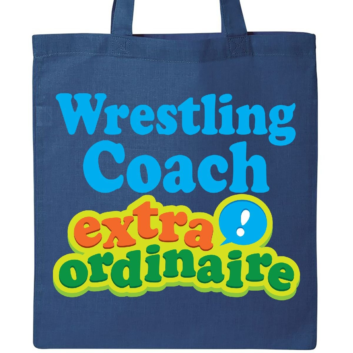 Inktastic - Wrestling Coach Extraordinaire Tote Bag Royal Blue 1a2ff