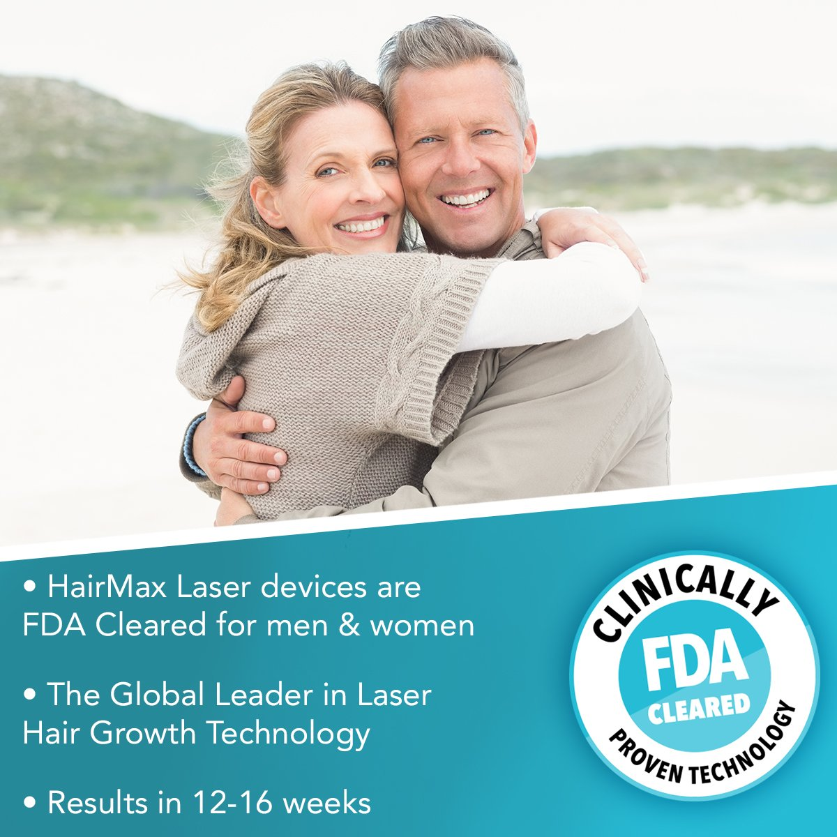 HairMax Prima LaserComb (Prima 9), Stimulates Hair Growth, Reverses Thinning, Regrows Denser, Fuller Hair. Targeted hair loss treatment. Light, Portable, FDA Cleared.