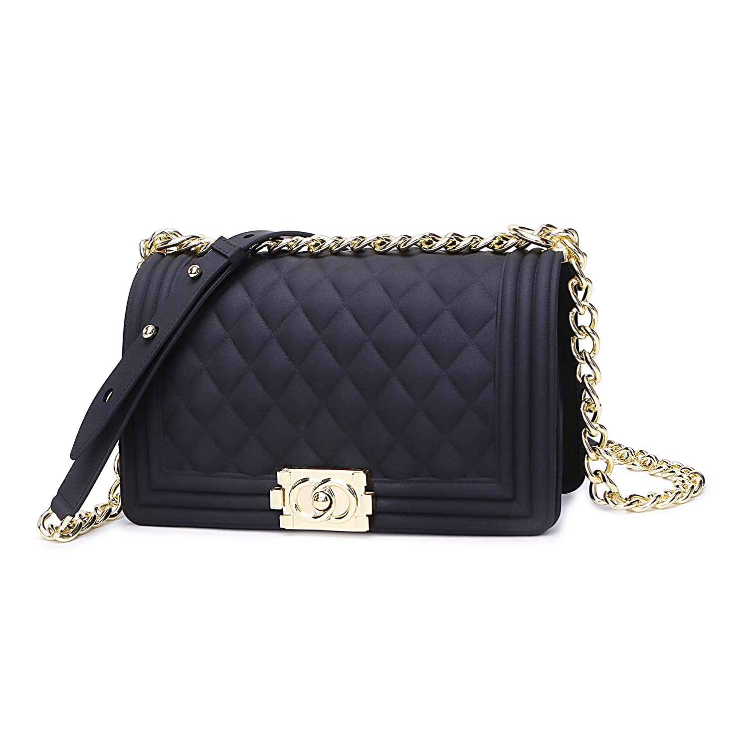 Classic Silicon Quilted Crossbody Bag Luxury