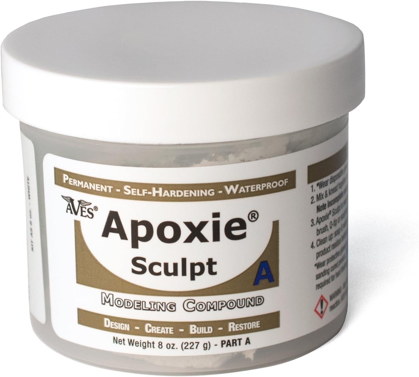 Aves Apoxie Sculpt 1Lb - Pasta epoxy de modelado, 453,6 g, color blanco