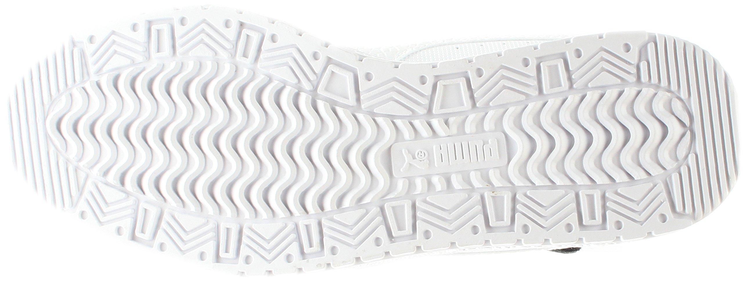 PUMA Women's Sky Ii Hi Sf Texture WN's Basketball Shoe, White Black, 8.5 M US by PUMA (Image #7)