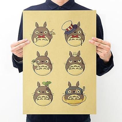 Amazon.com: Fangeplus(R)My Neighbor Totoro Miyazaki Hayao Cartoon ...