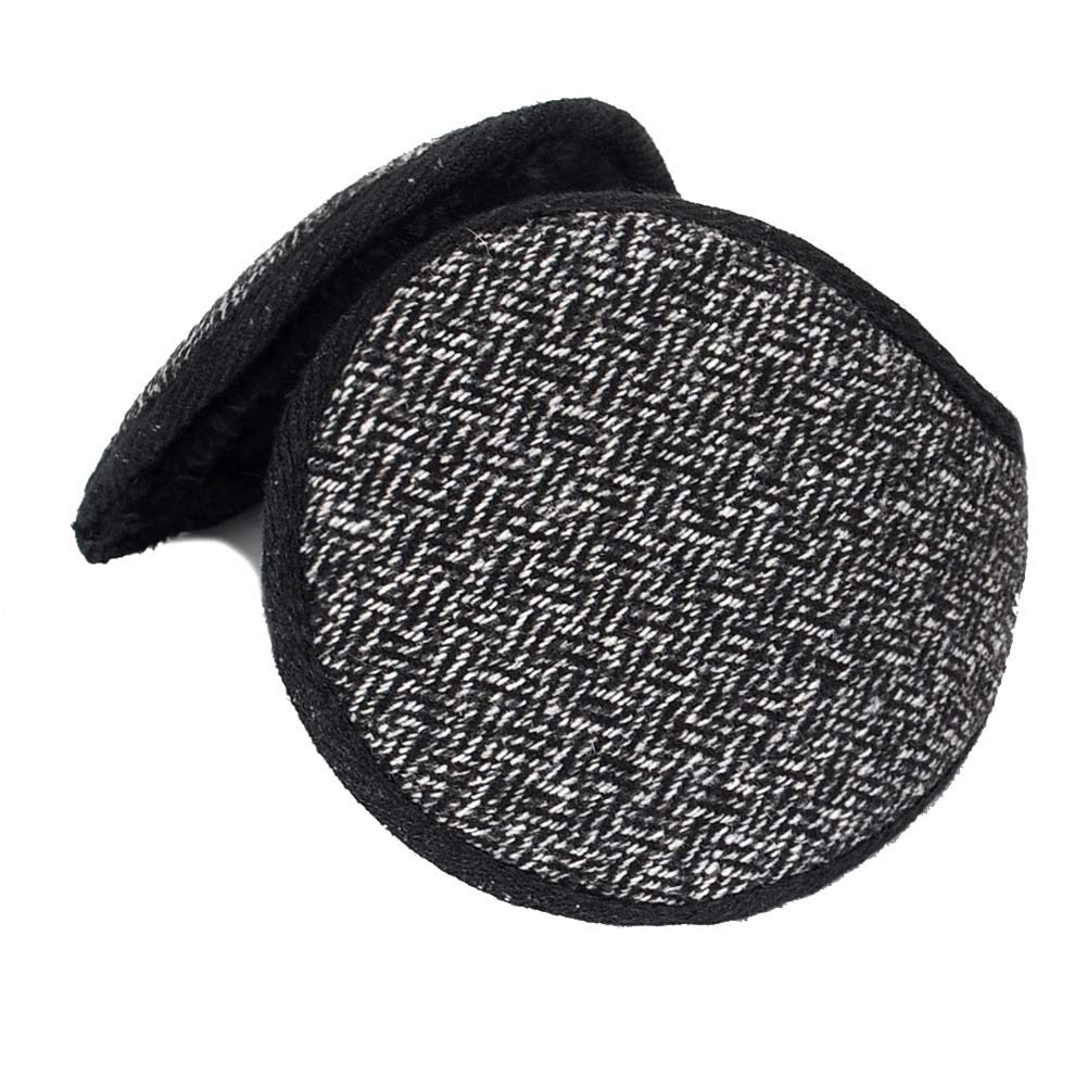 ANJUY Mens Behind-the-head Design Ear Warmers for Winterm,Pack of 2