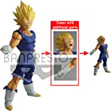Banpresto - Dragon Ball Super Figurine, Legend Battle, Vegeta Super Saiyan, 25Cm