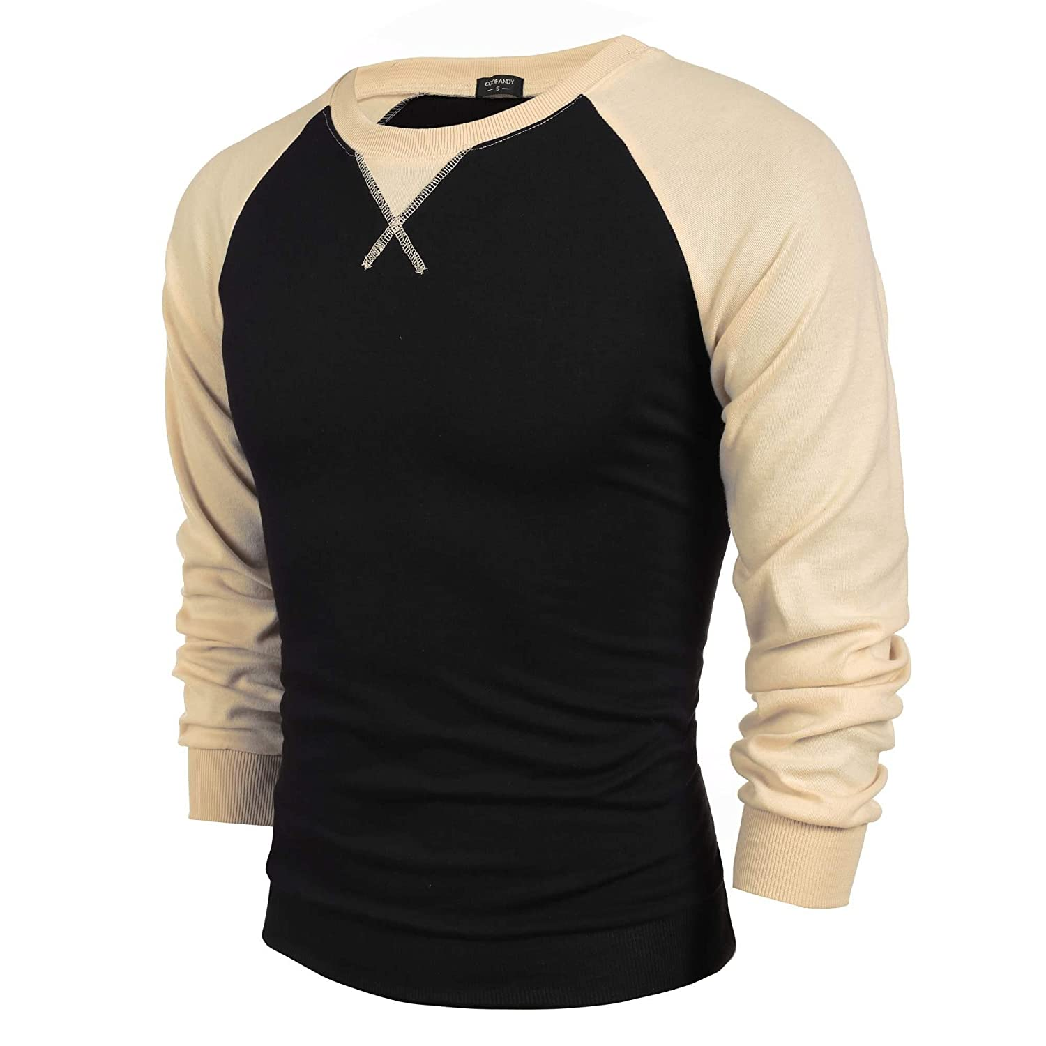 sholdnut Autumn Hoodies Leisure Coat Color Splicing Hoodie Casual Style Hoodies Long Sleeve Pullover T-Shirts