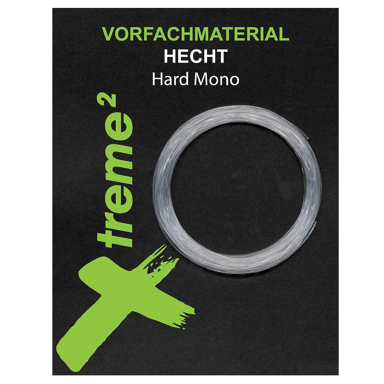 Xtreme/² Hard Mono Hecht 9m 11,3kg Cebbra Raubfisch Angeln Vorfach
