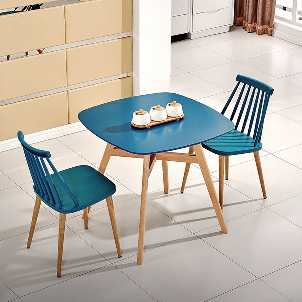 Amazon.com: TLMY Simple Coffee Shop Tables Chairs Creative ...