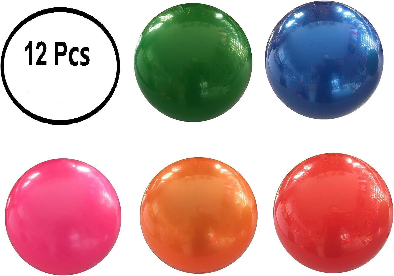 12 Pcs Juguete De Pelota De Playa De Balon (Liso Brillante)