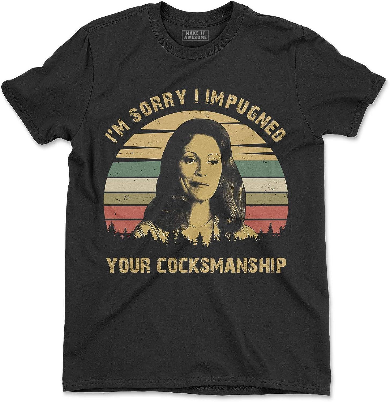Im Sorry I Impugned Your Cocksmanship Vintage T-Shirt