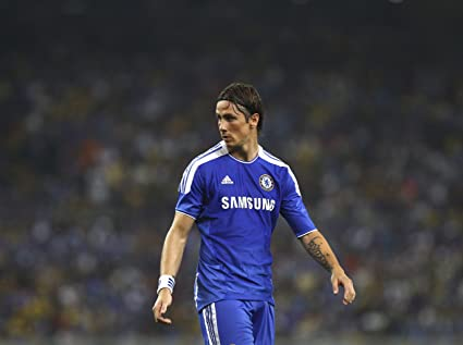 hot sales 1df80 7b9c1 Amazon.com: Fernando Torres - Chelsea Spain #01 - 18X24 ...