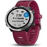 Garmin 010-01863-21 Forerunner 645 Music, GPS Running Watch with Pay Contactless Payments, Wrist-Based Heart Rate and Music,