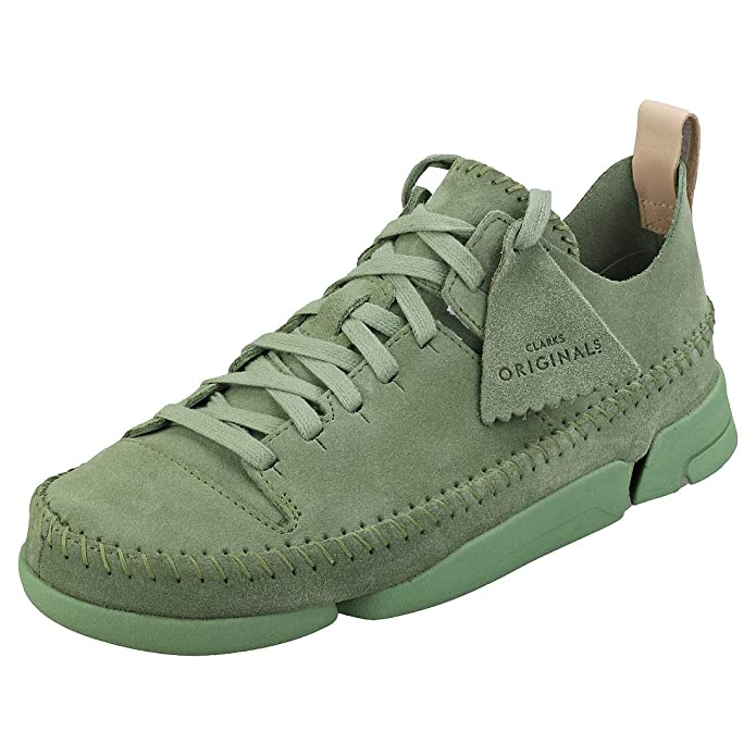 3e075e028d9e1 Amazon.com | Clarks Originals Womens Trigenic Flex Suede Trainers | Fashion  Sneakers