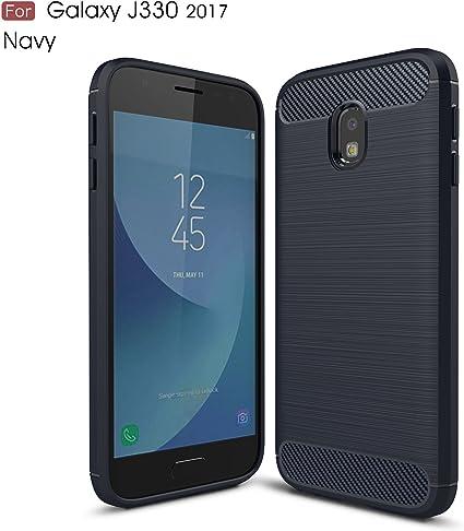 Samsung Galaxy J3 2017 Funda, Slim Armor Silicio Cover Funda ...