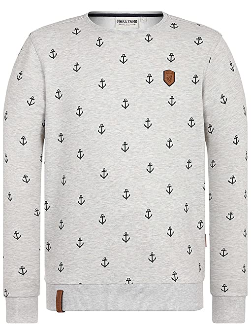 Naketano Herren Sweater Fuck Being Modest Sweater: