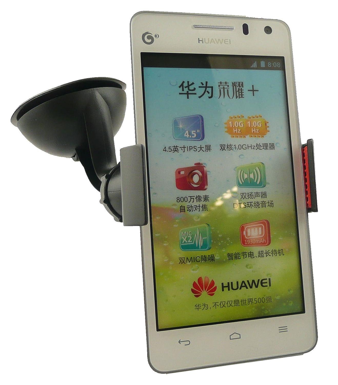 Emartbuy® Universal Claw Clip 360 Gradi Cruscotto / Parabrezza Del Supporto Dell'Automobile Di Aspirazione Del Supporto Nero Adatto Per Huawei Ascend G615 Emartbuy® MA73628