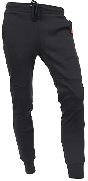 5fcbc8a7a32 Hat and Beyond Casual Fleece Jogger Pants Active Elastic Urban Slim Fit  DP-61 (