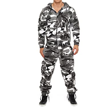 dacf7810e0468 Drying Jumper 1B5 Herren Camouflage Jogging Anzug Urban Gr. S  Amazon.de   Bekleidung