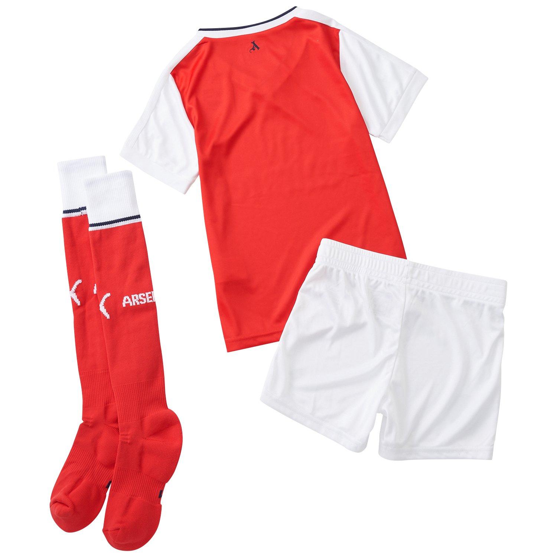 brand new f06e4 51be5 Puma Children's Arsenal Home Mini Kit Set With Hanger - Baby Set,  Children's, Set AFC Home Minikit with hanger, high risk red-White