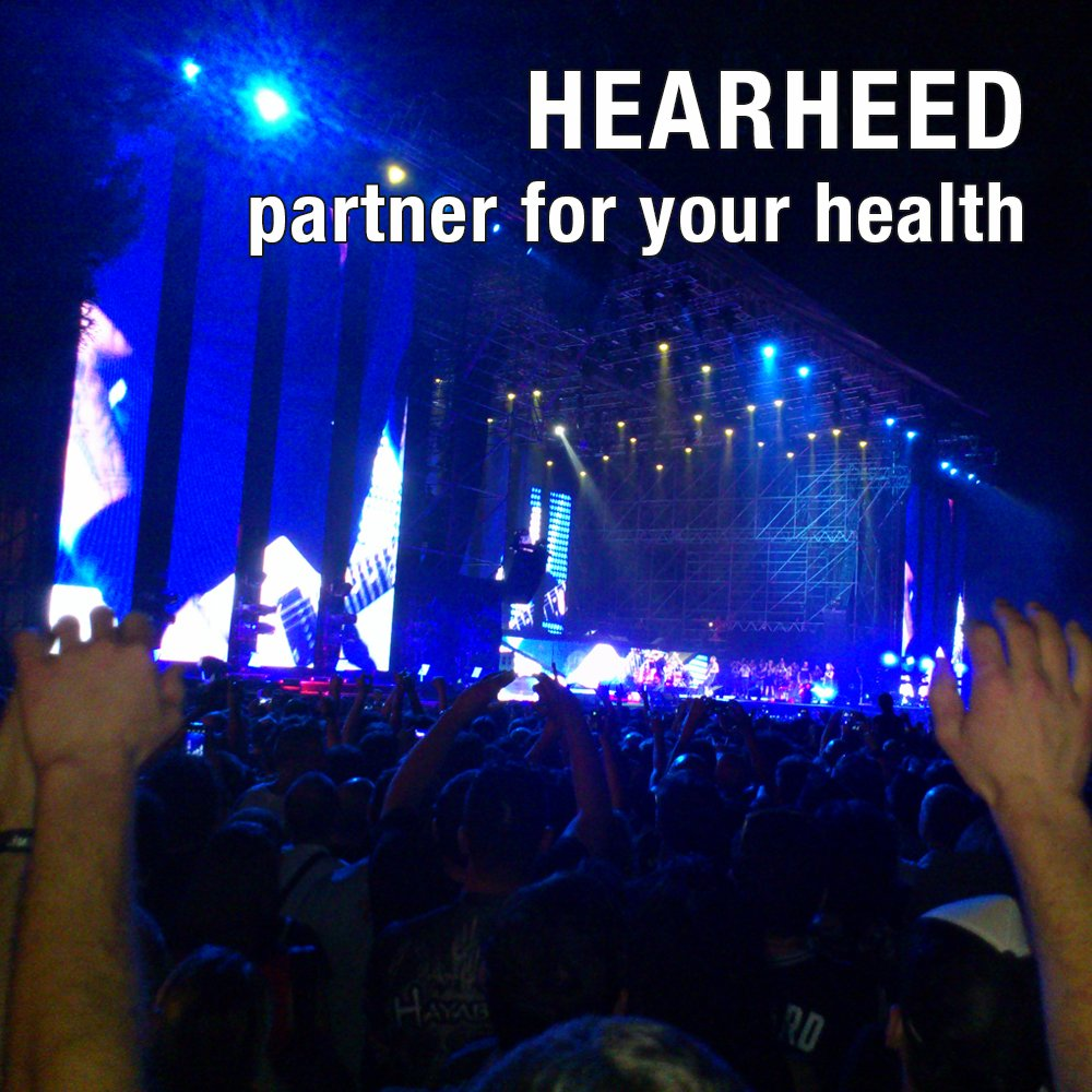 Hearheed High Fidelity Ear Plugs Noise Reduction - Hearing Protection Earplugs for Concerts Loud Live Music and More - DJs Clubbers Motorcycle Riding Construction Work Travel Flying Pressure Earplugs by Hearheed (Image #7)