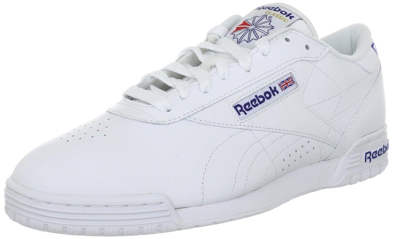 Reebok EXOFIT LO CLEAN LOGO INT R524822 Herren Klassische Sneakers  46 EU|Weiss (Na)