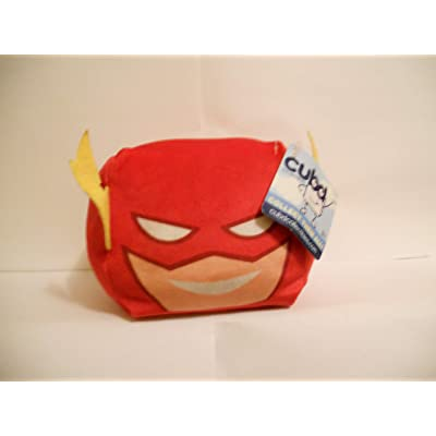 Justice League Flash - Plush Mini Travel Pillow by Cubd Collectibles: Toys & Games