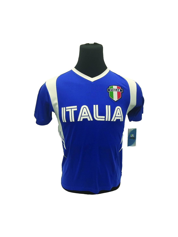 Italia Jerseyブルー B01HMWJLKS L
