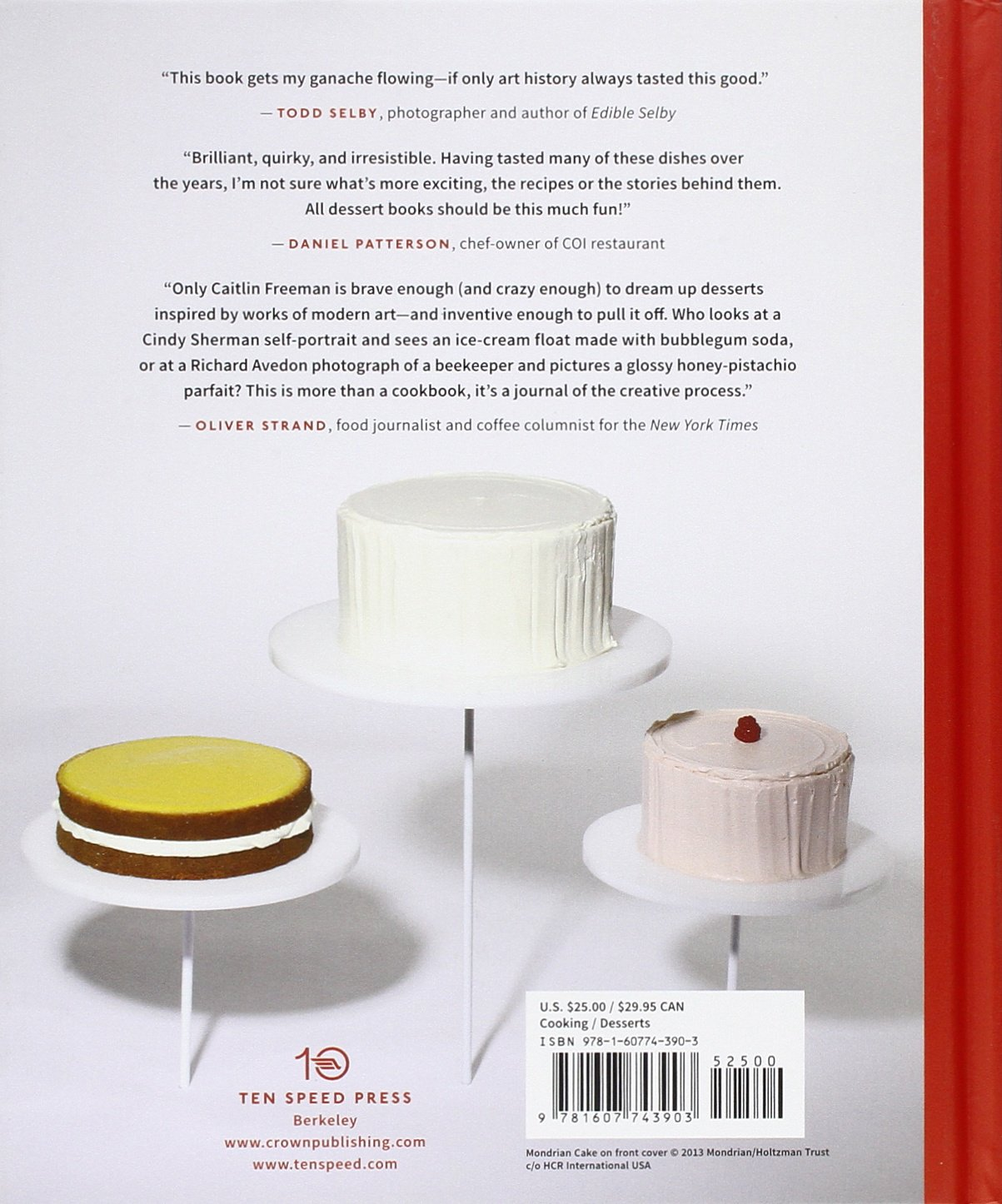 Modern Art Desserts: Recipes for Cakes, Cookies, Confections, and Frozen  Treats Based on Iconic Works of Art: Amazon.co.uk: Caitlin Freeman:  9781607743903: ...