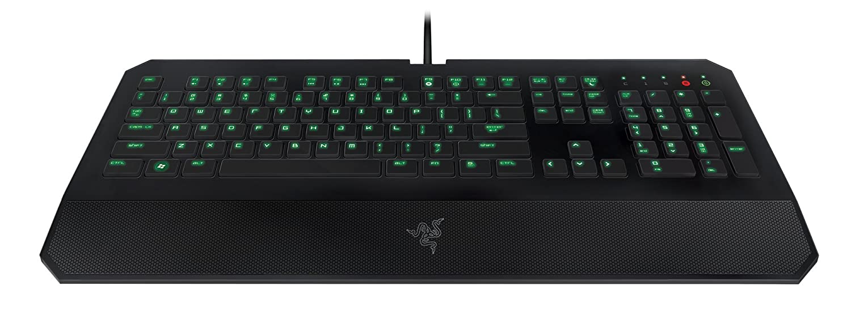 Razer DeathStalker - Teclado QWERTY Inglés para juegos, color negro: Amazon.es: Informática