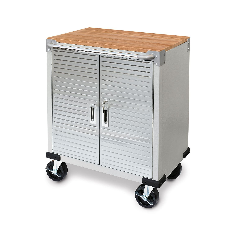 Amazon.com: Ultra HD 2-Door Rolling Cabinet: Kitchen & Dining