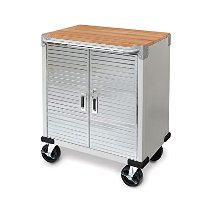 Amazon Ultra Hd 2 Door Rolling Cabinet Kitchen Dining