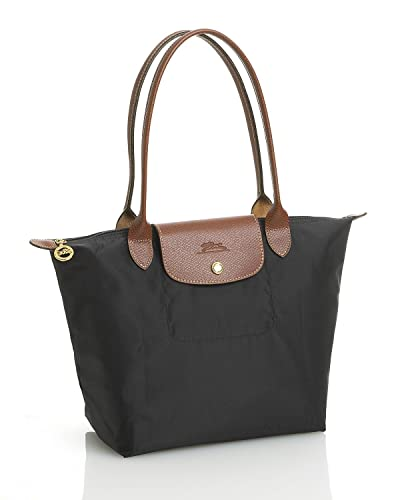 896a54bc3be12 Amazon.com  Longchamp Pliages Black Medium Tote Bag Purse  Shoes