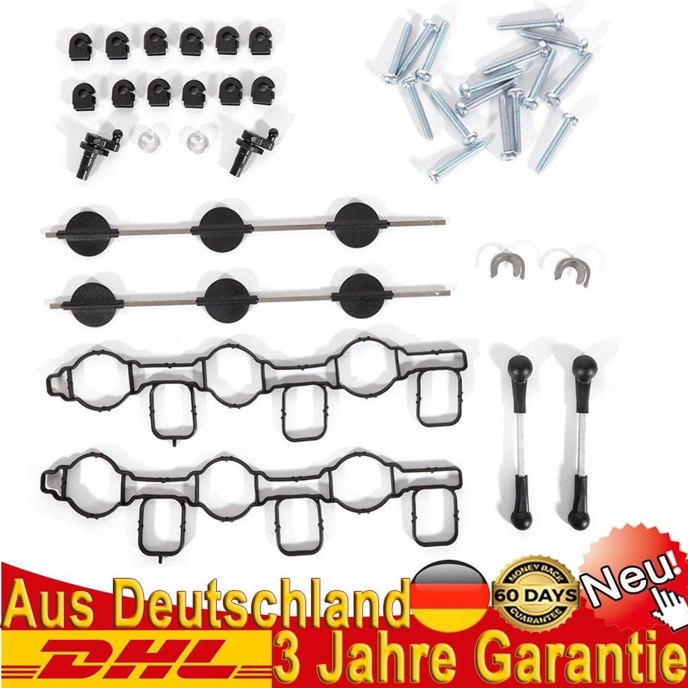 Saugrohrklappe Reparatursatz f/ür 2.7 3.0 TDI V6 Au di A4 A5 A6 Por sche Cayenne DE
