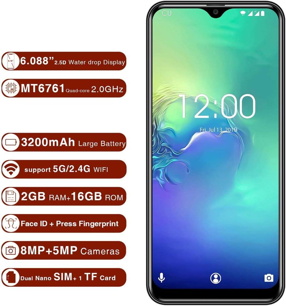 Momorain oukitel c15 Pro 6.088 Pulgadas Pantalla Smartphone 2GB ...
