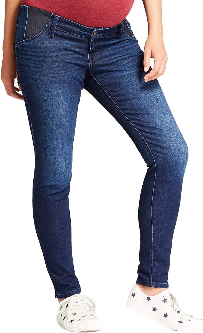 Bravepe Men Ruched Straight Leg Casual Stretchy Mid Rise Denim Pants Jeans