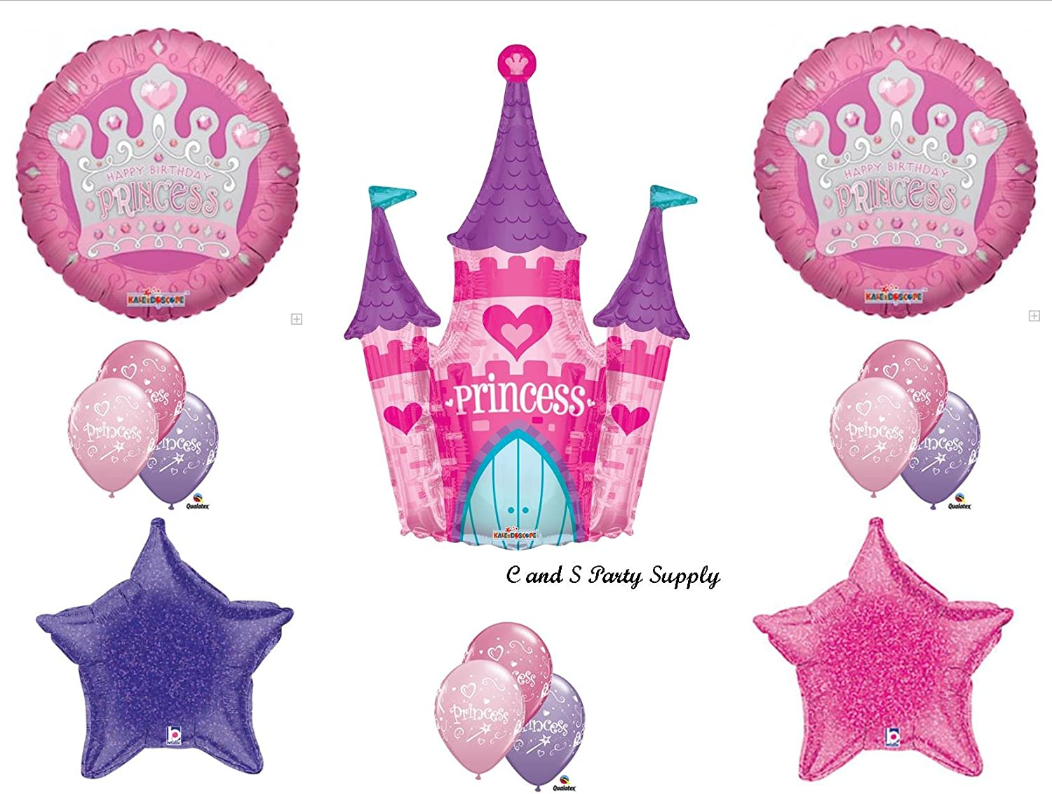 PACK 2 PINK FAIRY HAPPY BIRTHDAY EMBELLISHMENTS FOR CARDS OR CRAFTS