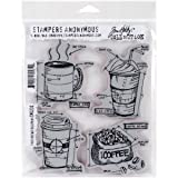 Stampers Anonymous Tim Holtz Cling Rubber Fresh